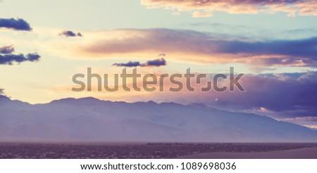 Death valley National Park, California #1089698036