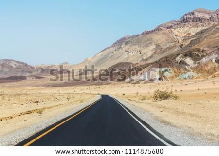 Death valley National Park, California #1114875680