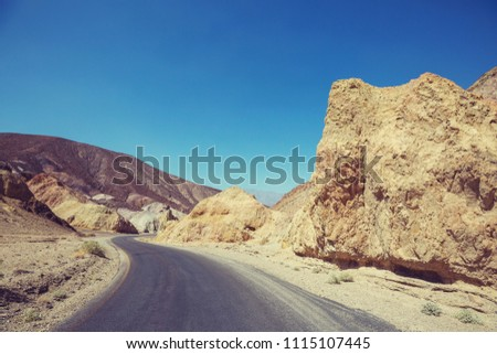 Death valley National Park, California #1115107445