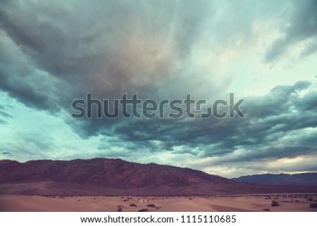 Death valley National Park, California #1115110685
