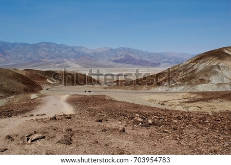 Death Valley National Park, US National Park, California, June 20, 2017, Badwater basin #703954783