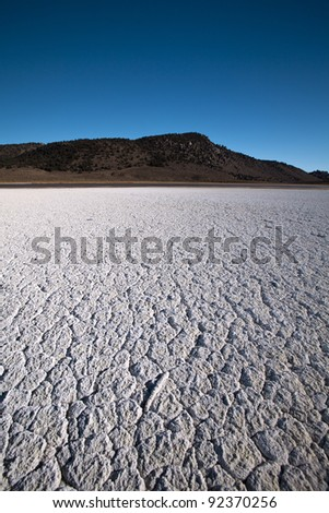 Death Valley Salt patch in California!