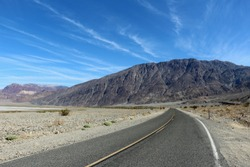 Deathvalley National Park in the United States Desert