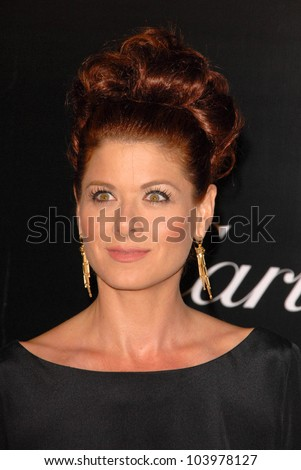 Debra Messing at the 2009 Rodeo Drive Walk of Style Award Gala. Rodeo Drive, Beverly Hills, CA. 10-22-09