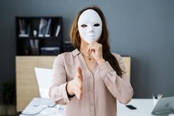 Deceitful Lying Salesmen. Business Fraud And Dishonesty