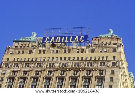 DECEMBER 2004 - Cadillac Building in downtown Detroit, MI