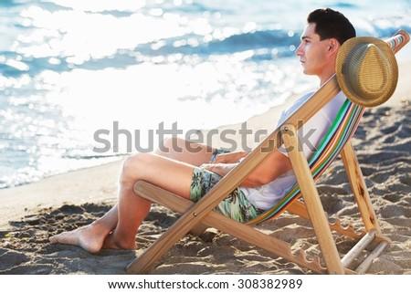 Deck Chair. #308382989