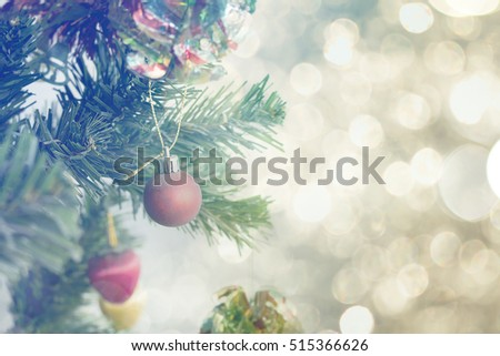 Decorated Christmas Tree Stock Photo 515366626 : Shutterstock