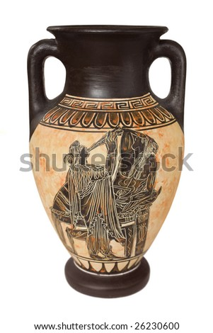 How do you draw in that ancient Greek vase style?