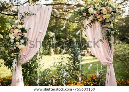decorated weddig arch
