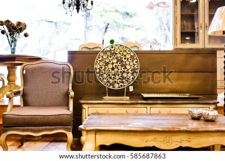 Decoration and Interior #585687863