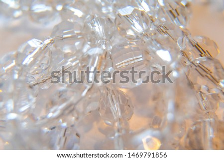 decoration chandelier crystal, chandelier crystal macro shot