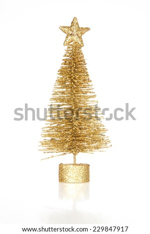 decoration christmas tree isolated on white background #229847917
