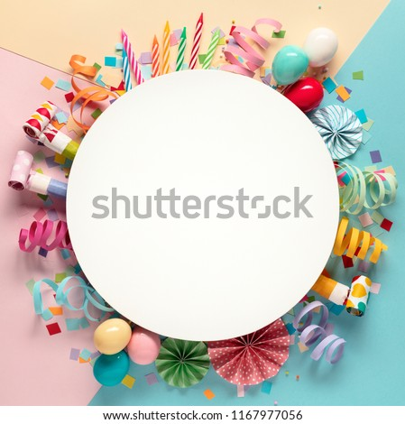 Decoration for the party.design concept. #1167977056