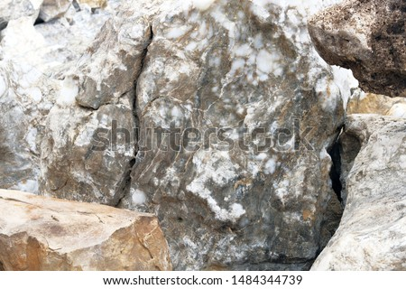 Decoration Materials. Marble materials for decoration and construction. Decorative natural stones are sold in construction market.