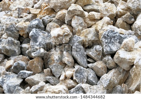 Decoration Materials. Marble materials for decoration and construction. Natural stones are sold in construction market.