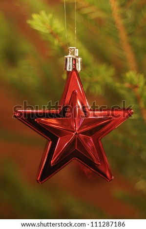 Decoration on a Christmas tree