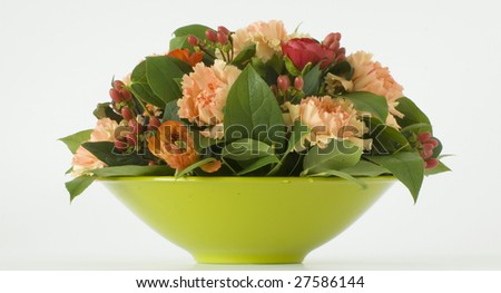 decoration with flowers