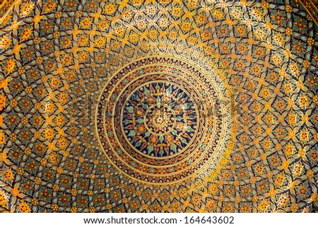 Decorative Art of Thai background