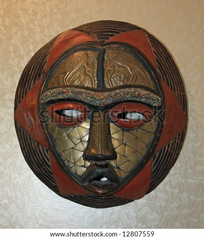 decorative african masks