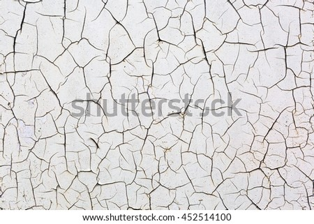 decorative background texture from cracked paint
