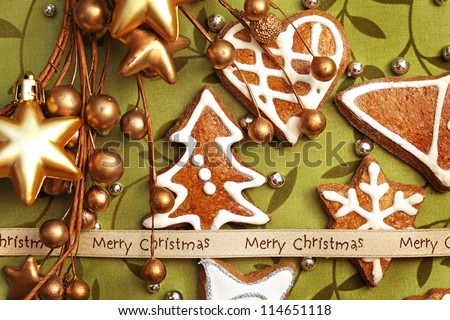 decorative christmas gingerbreads