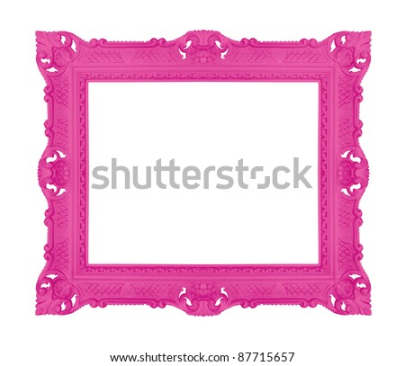 Decorative contemporary picture frame, similar available in my portfolio
