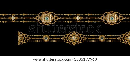 Decorative elegant luxury design.Vintage elements in baroque, rococo style.Design for cover, fabric, textile, wrapping paper . Сток-фото ©