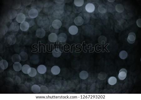 Decorative lights on Christmas Day