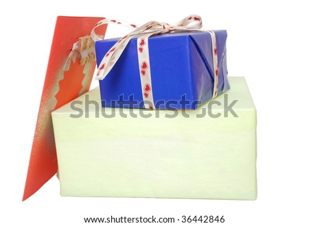 decorative on Christmas gifts