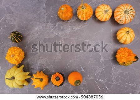 decorative pumpkin #504887056