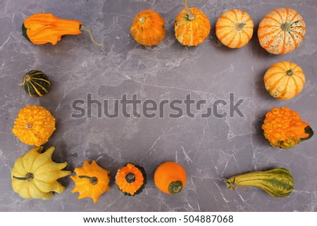 decorative pumpkin #504887068