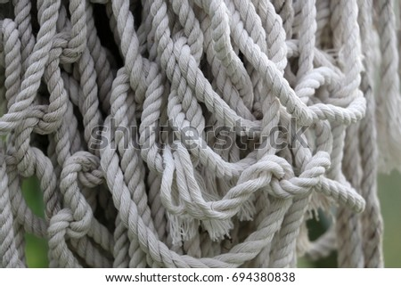 Decorative rope #694380838