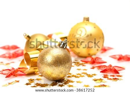 Decorative spheres and stars