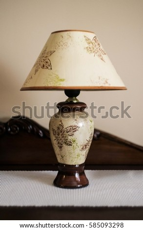 decorative table lamp #585093298