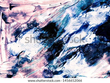 Decorative texture. Liquid paints. Watercolour stains. Abstract painted waves. Trendy background for posters, cards, invitations, websites, wallpapers.Spots of paint. Brushstrokes of paint.