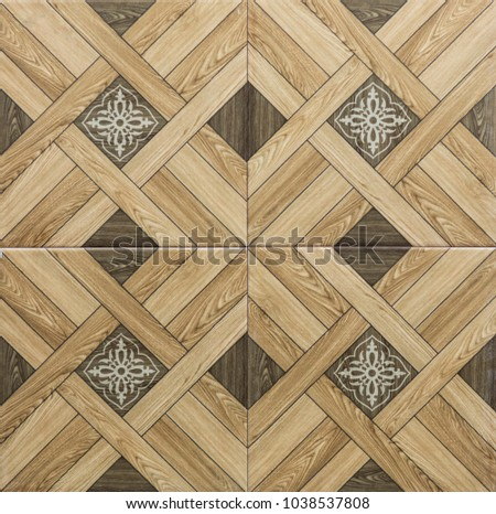 decorative tile for interior, pattern abstract mosaic #1038537808