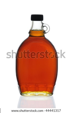 Decorative Traditional Maple Syrup Bottle From Canada