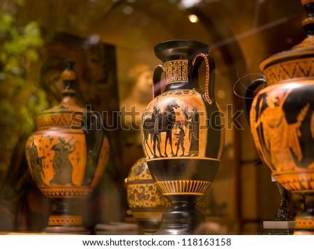 Decorative Vases in Greece