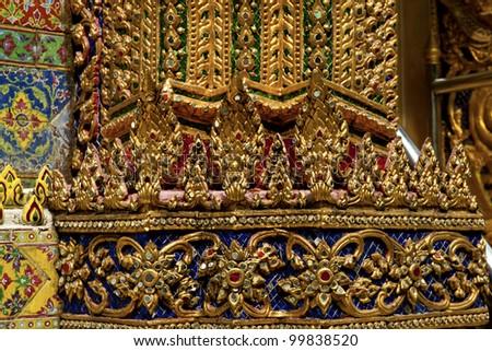 decorative vintage background in thai style