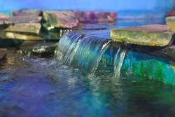 Decorative waterfall