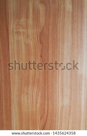 deep brown colored wooden surface #1435624358