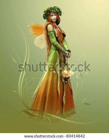 stock photo : Deep Forest Elf