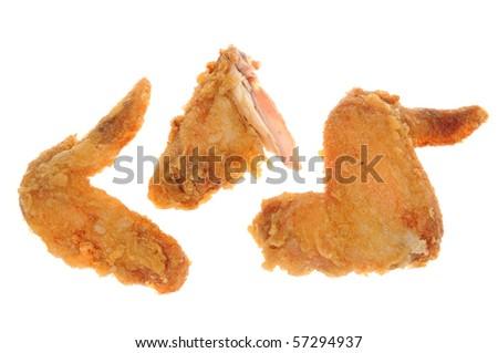 Deep Fried Chicken Wings Stock Photo 57294937 : Shutterstock