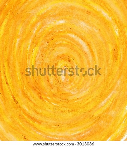 Deep Hole Texture in Bright Sunny Yellow