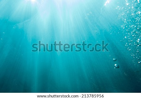 Deep in the sea _ Light and Sky