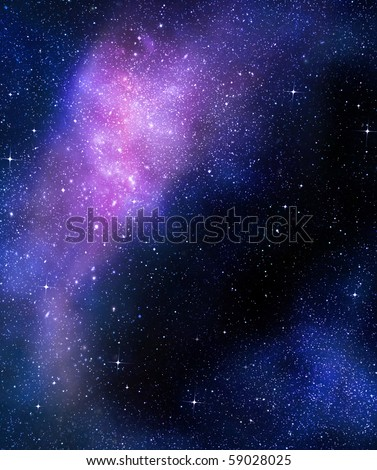outer space wallpaper. stock photo : deep outer space