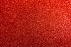 Deep red black silver shiny glitter Valentine's Day texture background. Gradation foil paper color red light sparkle Chinese New Year background. top view.