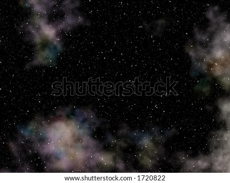 Deep Space Background with numerous stars