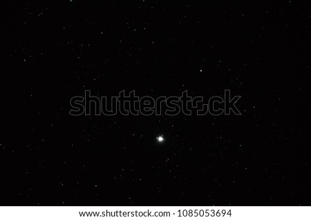 Deep space background with stardust and shining stars. Milky way cosmic background. #1085053694